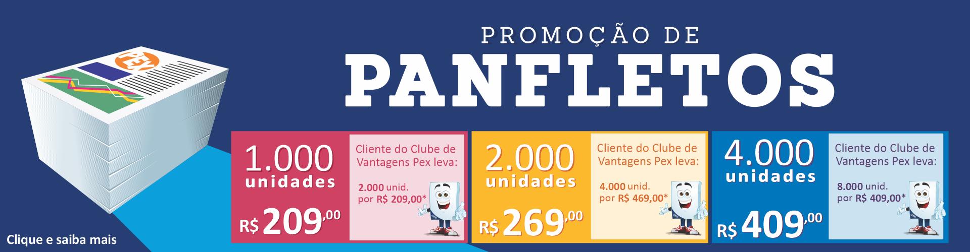 Promoção de Panfletos 2021