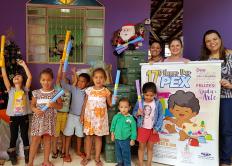 Entrega das arrecadações do Happy Day Pex 2017