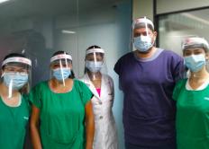 AACC/MS recebe 10 máscaras protetoras faciais