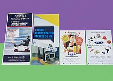 Panfleto, folheto, folder e flyer